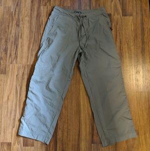 REI UPF 50+ nylon Olive pants